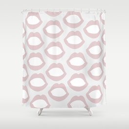 Pink Lips Shower Curtain