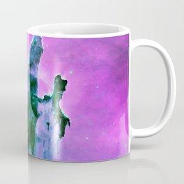 Pillars of Creation purple Pink Blue Coffee Mug