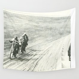 Board Track Racers  Wall Tapestry