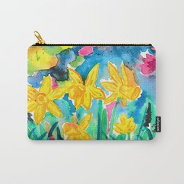 Magical Daffodils Carry-All Pouch
