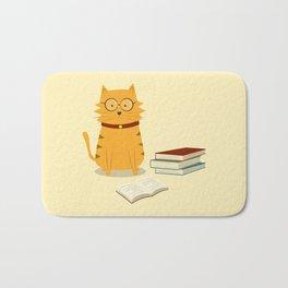 Nerdy Cat Bath Mat