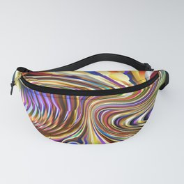 3 Dimensional Pinball Abstract Fanny Pack