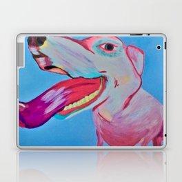pop art puppy love Laptop & iPad Skin
