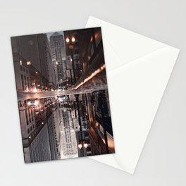 Gotham City Squared - Art Print Stationery Cards