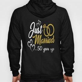 50th Wedding Anniversary Married Shirt Hoody