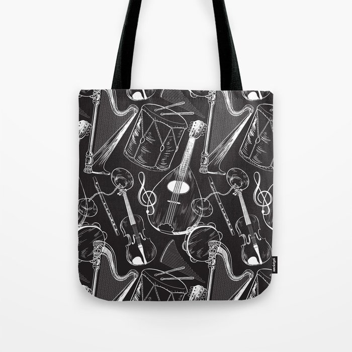 Classical Music Tote Bag By Wendyding