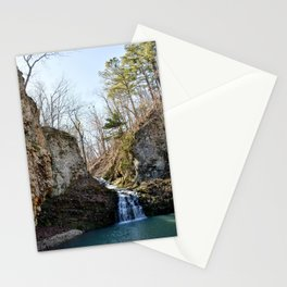 Alone in Secret Hollow with the Caves, Cascades, and Critters, No. 17 of 21 Stationery Cards