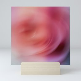 Abstract rose background Mini Art Print