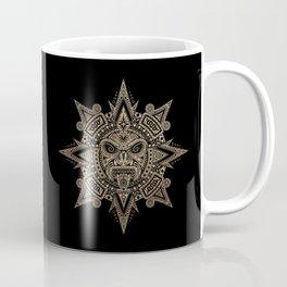 Ancient Stone Mayan Sun Mask Coffee Mug