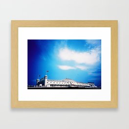 Palace Pier Framed Art Print