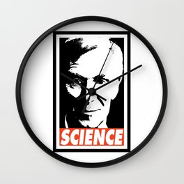 Bill Nye Science Wall Clock