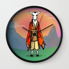Year of the Goat Wall Clock
