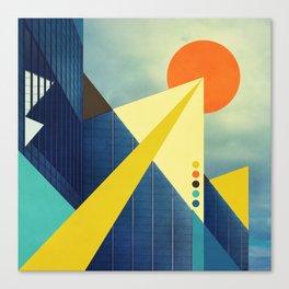 Heaven's Launchpad Canvas Print