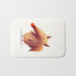 Monday fox Bath Mat