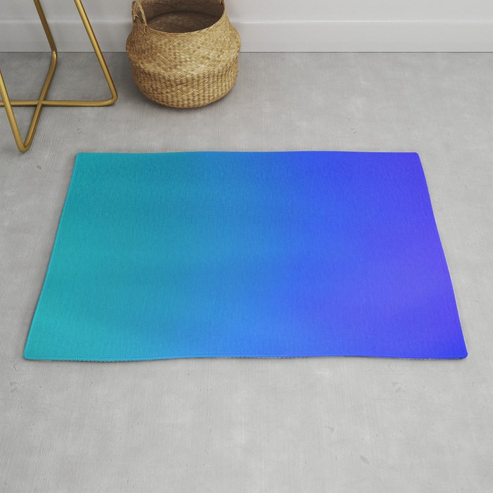 Blue Light Rug