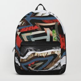 Inner Mask - Collage Backpack