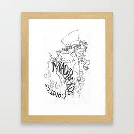 Nerd on Sermon Bandito Framed Art Print