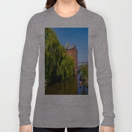 Historic Flour Mill. Long Sleeve T-shirt