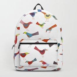 Birds doing bird things Backpack