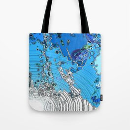 Seeping Colour  Tote Bag