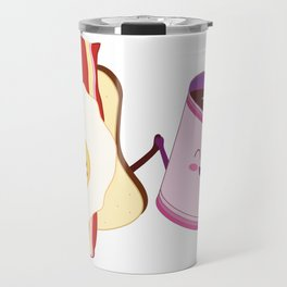 BFF Fun Eggs & Coffee with Bacon & Toast Travel Mug