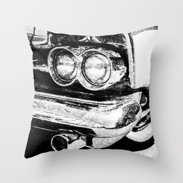Classic American Car Throw Pillow