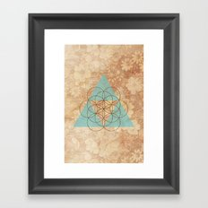 Geometrical 007 Framed Art Print