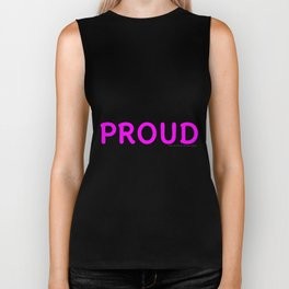 Make Yourself Proud Fitness & Bodybuilding Motivation Quote Biker Tank