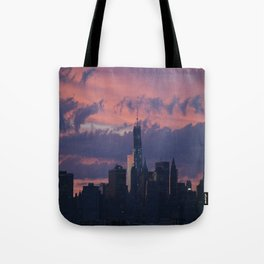 Sunset in NYC  Tote Bag