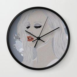 Wintery 2 Wall Clock