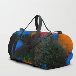 Fluffy Colours! Duffle Bag