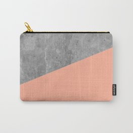 Geometry 101 Sweet Peach Pink Carry-All Pouch