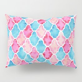 Colorful Moroccan style pattern Pillow Sham