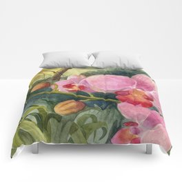 Orchid Beauty Comforters