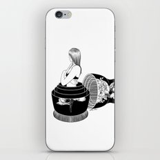 Nobody Knows The Real Me iPhone & iPod Skin