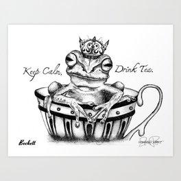 BECKETT Frog Prince Print Art Print