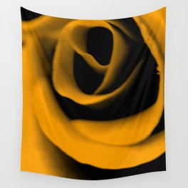 Yellow Rose III Wall Tapestry