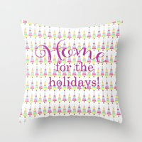 agnes Throw Pillows featuring agnes by KendraLock