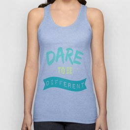 Dare To Be Different Unisex Tank Top