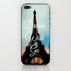 Dream Wish Go iPhone & iPod Skin