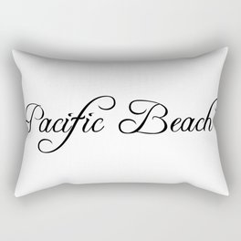 Pacific Beach Rectangular Pillow