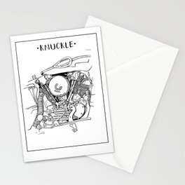 Knuckle Stationery Cards