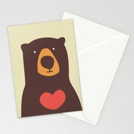 Hearty bear hug Stationery Cards