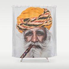 Jodhpur (colour) Shower Curtain