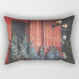 Old Market Christmastime Rectangular Pillow