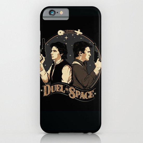 Duel in Space iPhone & iPod Case