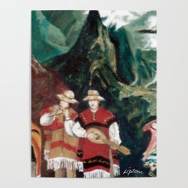 The ANDES             by Kay Lipton Poster