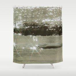Sea Glint Shower Curtain