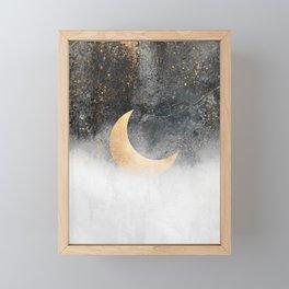 Crescent Moon Framed Mini Art Print