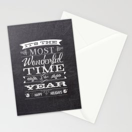Holiday Greetings Stationery Cards